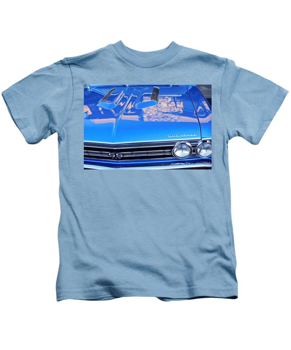 1967 Chevrolet Chevelle Super Sport Kids T-Shirt featuring the photograph 1967 Chevrolet Chevelle Super Sport by Jill Reger