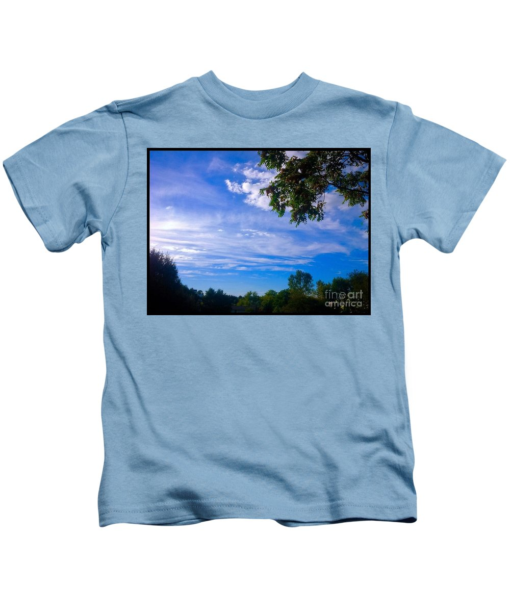 Nature Kids T-Shirt featuring the photograph Frederick Maryland Countryside by Debra Lynch