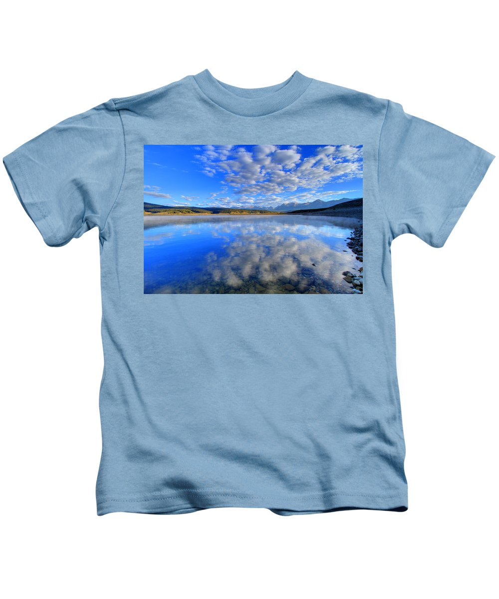 Inspire Kids T-Shirt featuring the photograph Inspiration by Scott Mahon