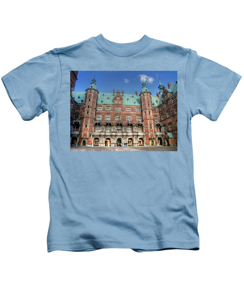 Zealand Denmark Kids T-Shirt featuring the photograph Zealand Denmark by Paul James Bannerman