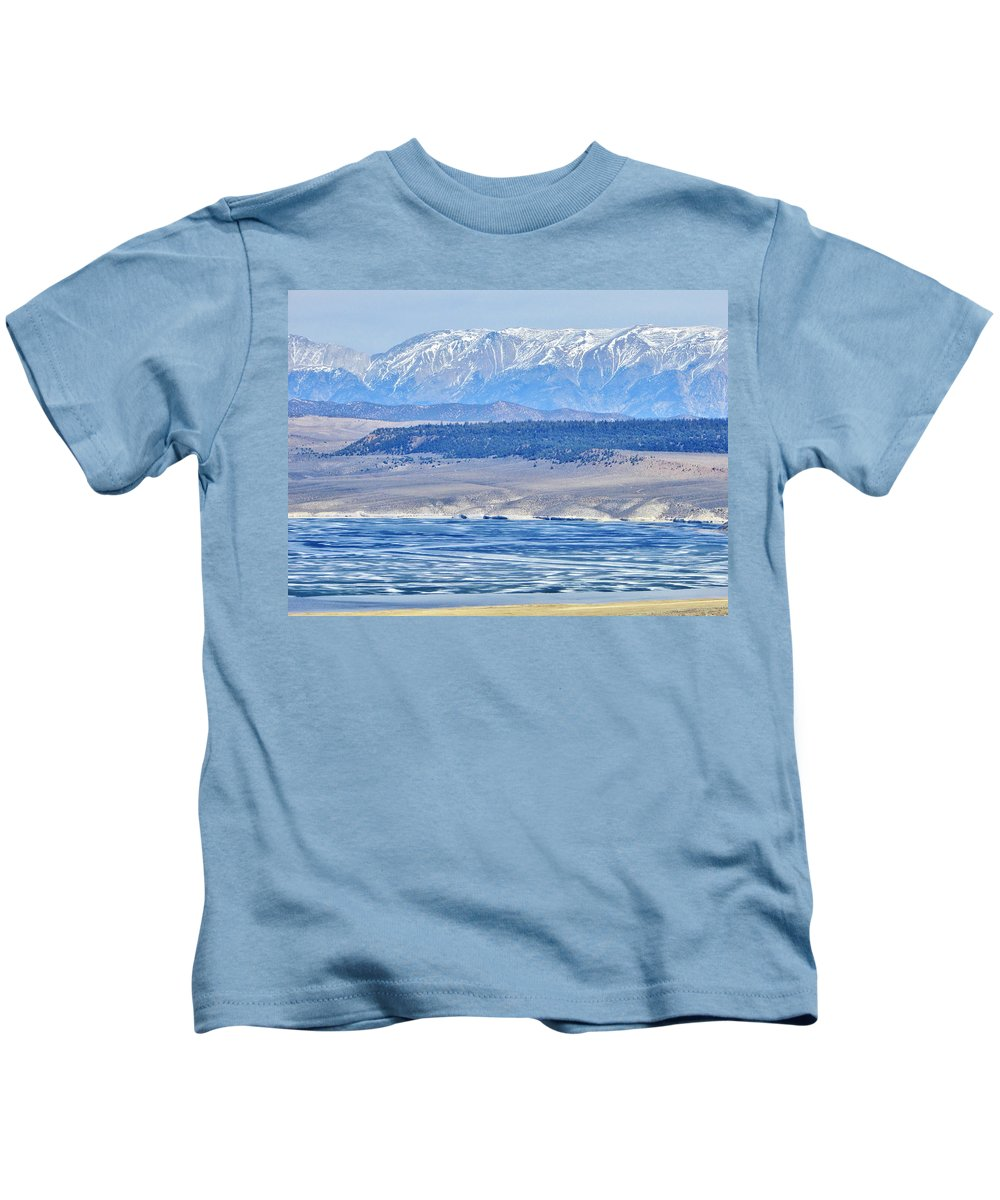 Sky Kids T-Shirt featuring the photograph Blues by Marilyn Diaz