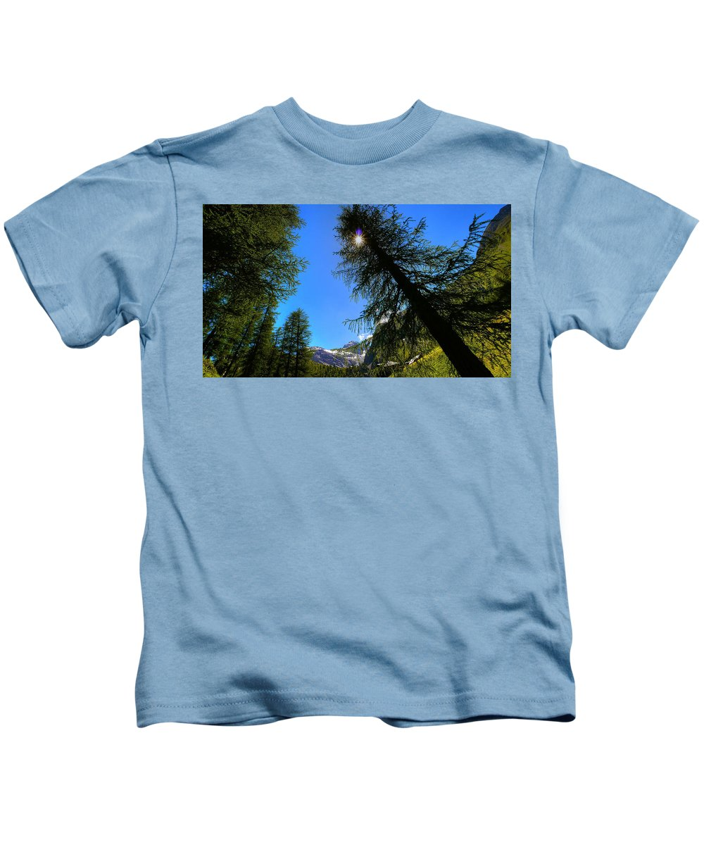 Tree Kids T-Shirt featuring the digital art Tree by Dorothy Binder