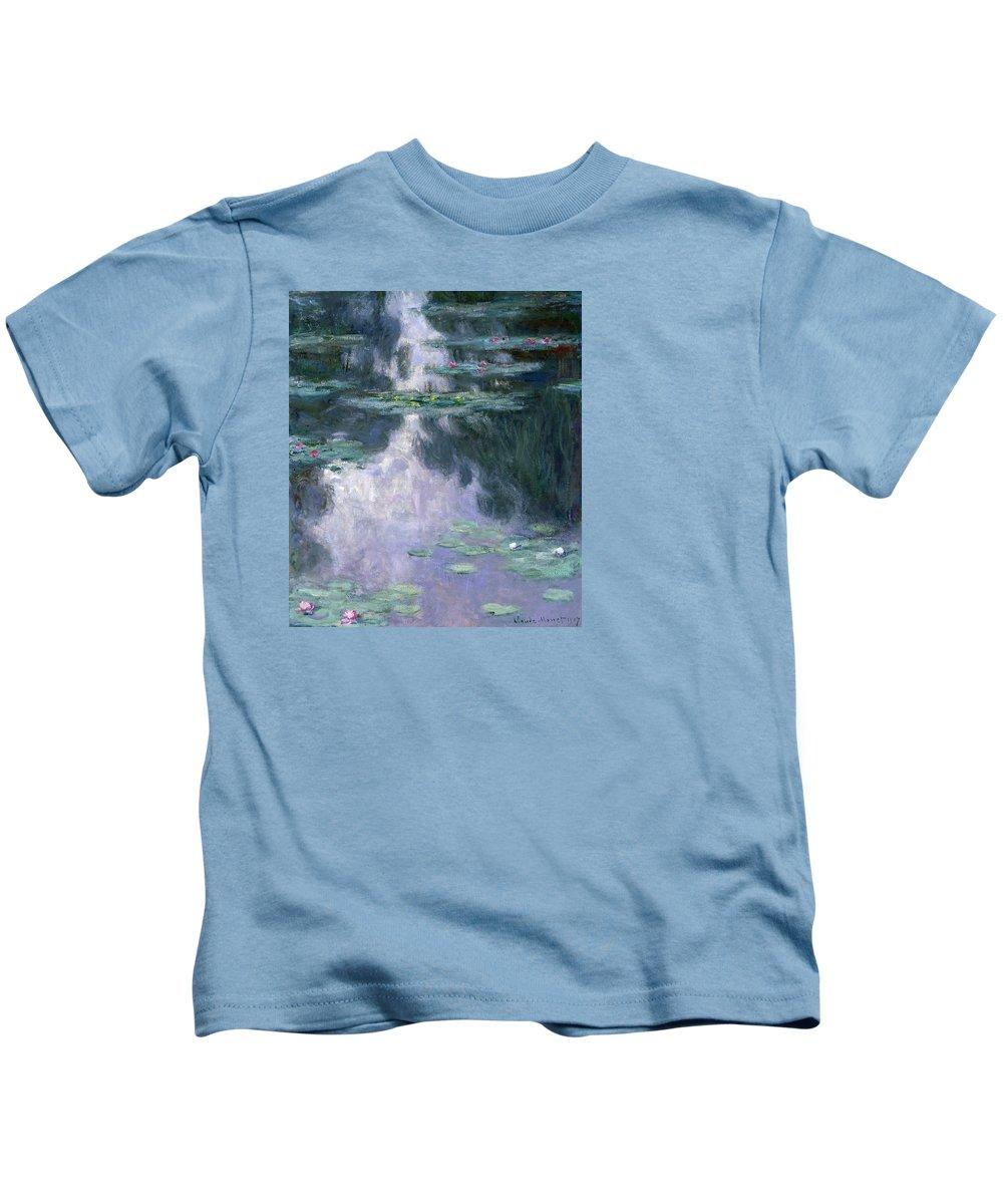 Nympheas Paintings Kids T-Shirts