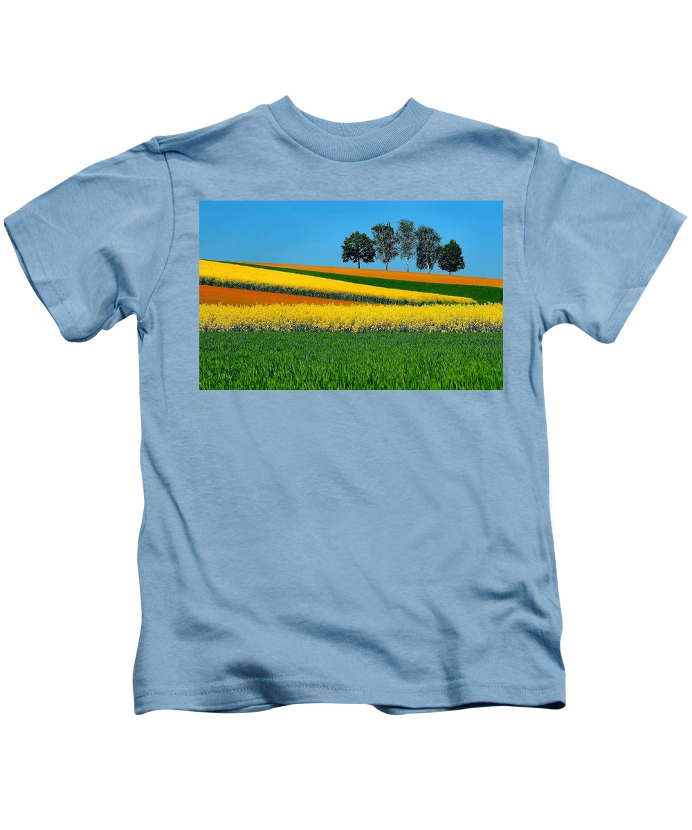 Landscape Kids T-Shirt featuring the digital art Landscape by Dorothy Binder