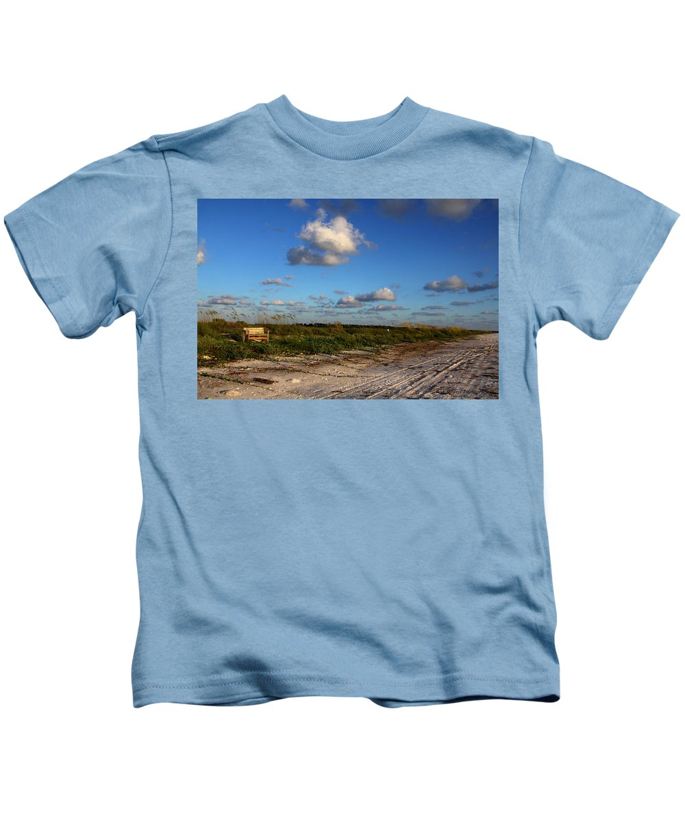 Beach Kids T-Shirt featuring the photograph A Place To Rest by Barbara Bowen