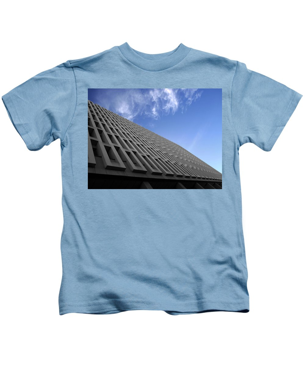 Building Kids T-Shirt featuring the photograph ABC by Kelly Jade King