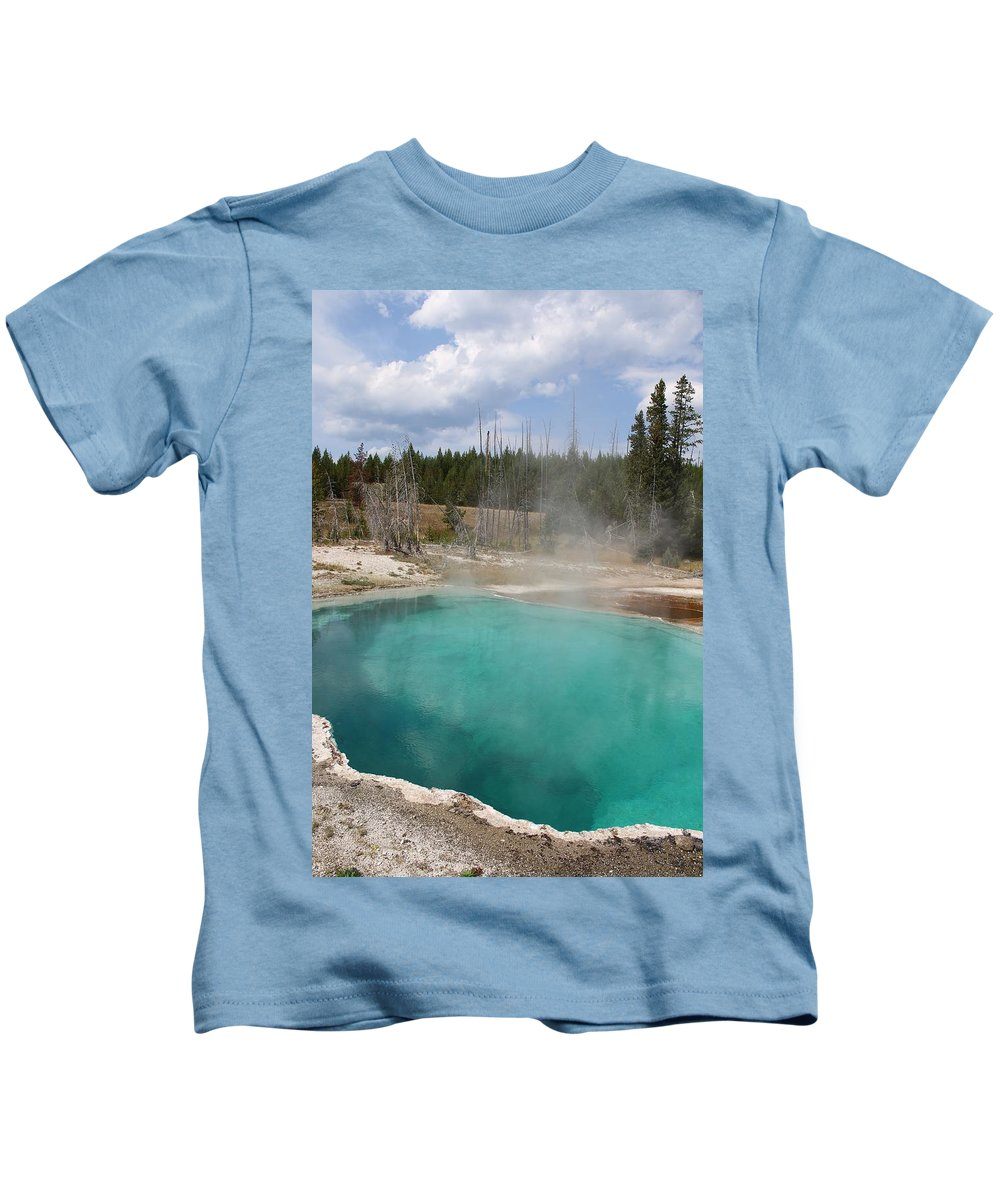 Abyss Pool Kids T-Shirt featuring the photograph Abyss Pool by Darla Wells