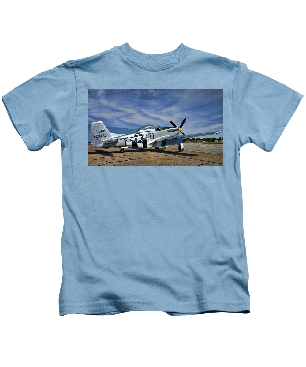 Angels Playmate Kids T-Shirt featuring the photograph Angels Playmate by Steven Richardson