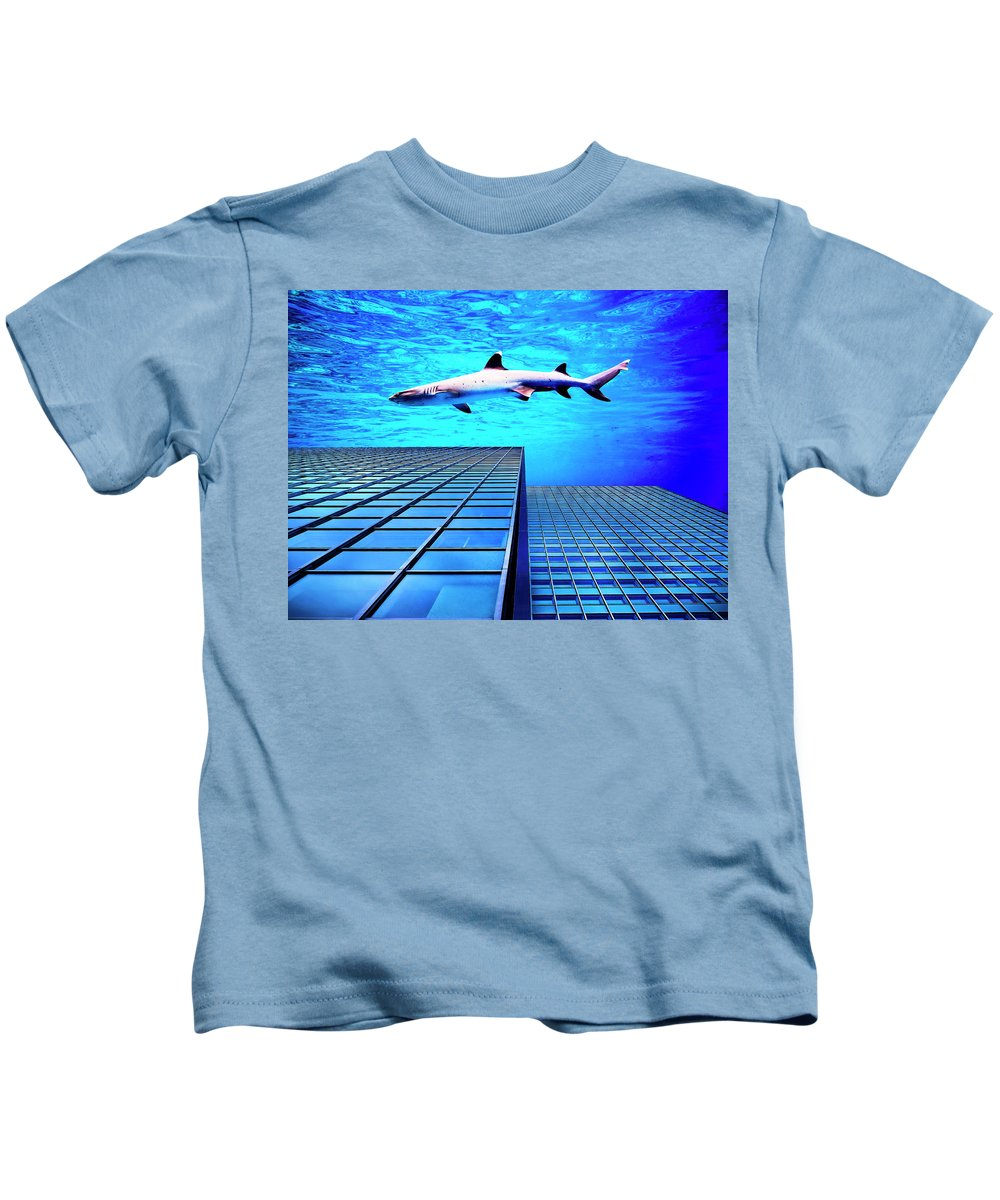 Shark Kids T-Shirt featuring the photograph Apex Predator by Dominic Piperata