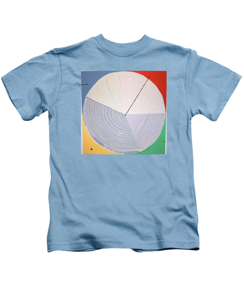 Landscape Kids T-Shirt featuring the painting Aquifer # 1 by Jonathan Perlstein