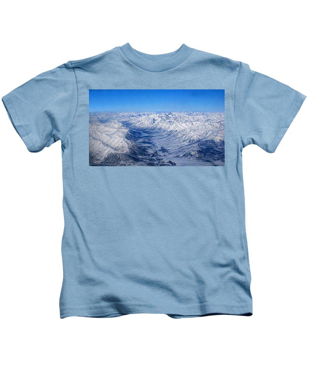 Artic Kids T-Shirt featuring the photograph Artic Polar Circle by Galeria Trompiz