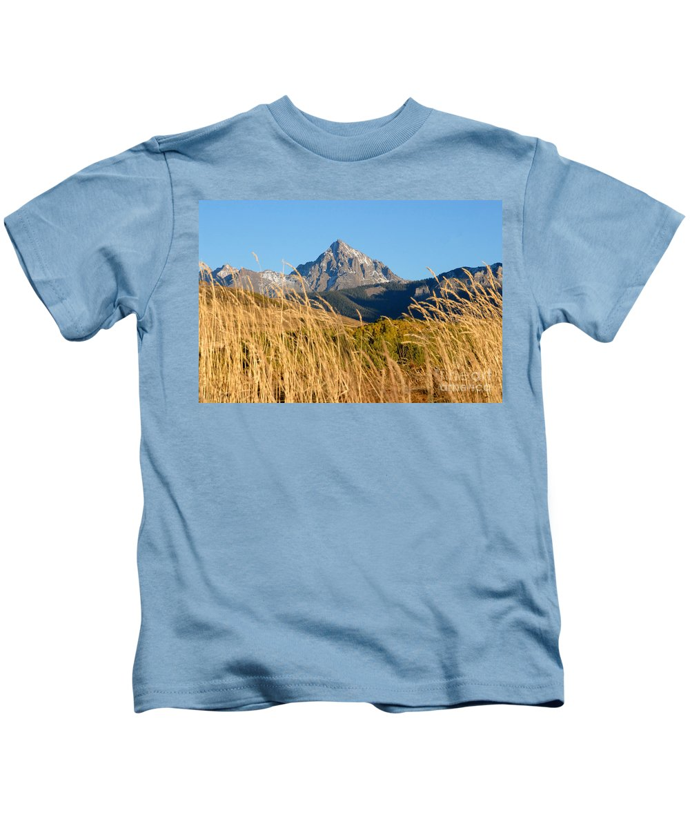 Fall Kids T-Shirt featuring the photograph Autumn Day by David Lee Thompson