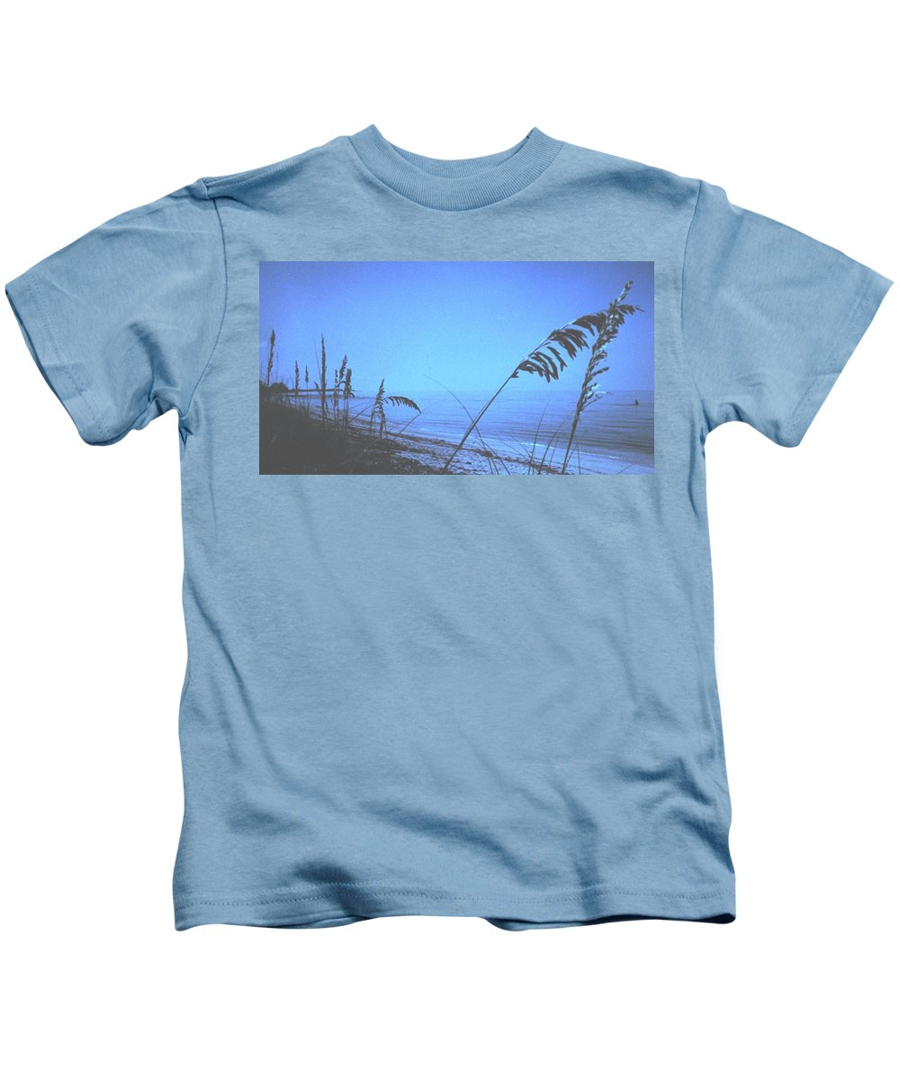 Kids T-Shirt featuring the photograph Bahama Blue by Ian MacDonald