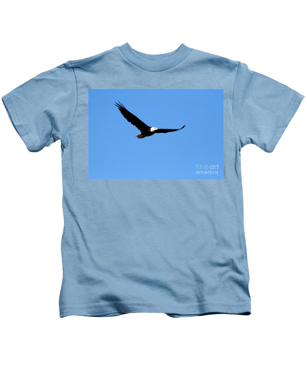 Eagle Kids T-Shirt featuring the photograph Bald Eagle II by Thomas Marchessault