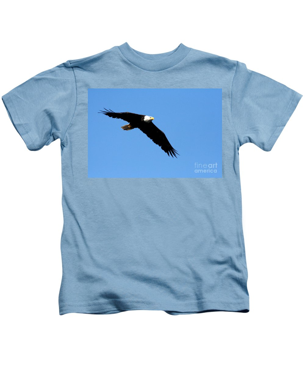 Eagle Kids T-Shirt featuring the photograph Bald Eagle IIi by Thomas Marchessault
