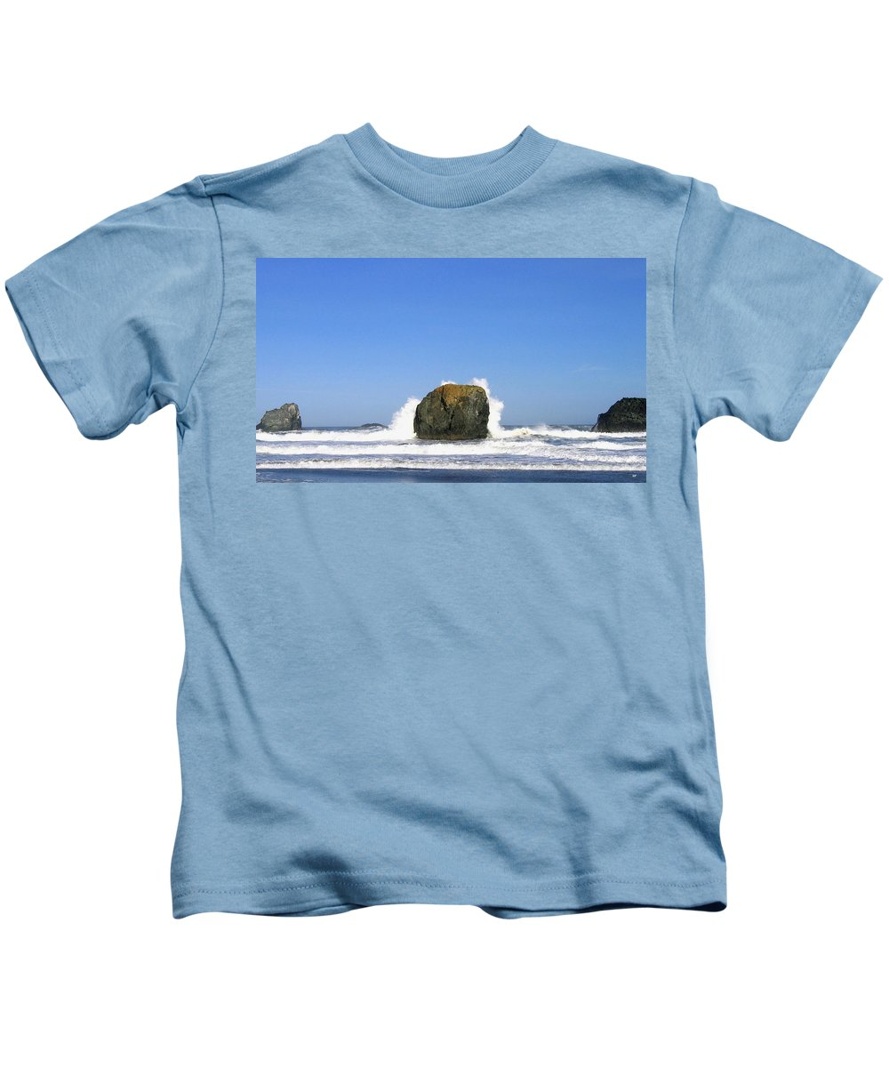 Bandon Kids T-Shirt featuring the photograph Bandon 14 by Will Borden