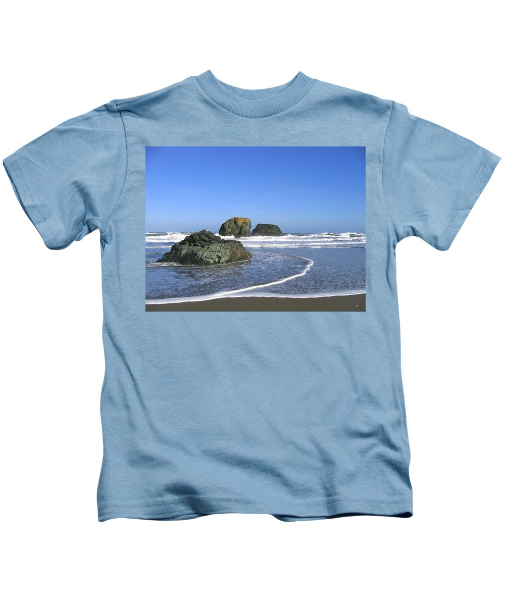 Bandon 5 Kids T-Shirt featuring the photograph Bandon 5 by Will Borden