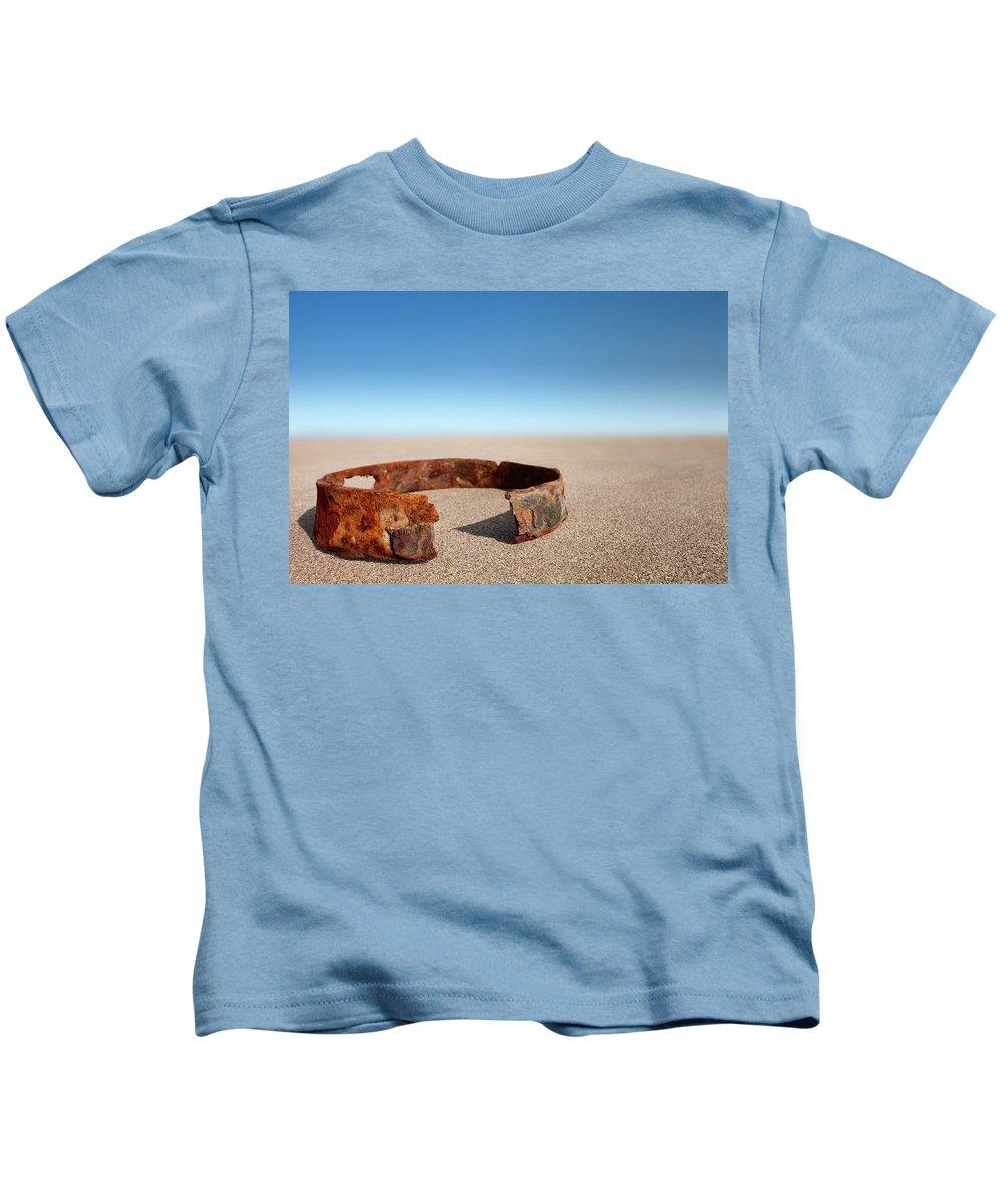 Beach Kids T-Shirt featuring the photograph Beach Studio by David Nightingale