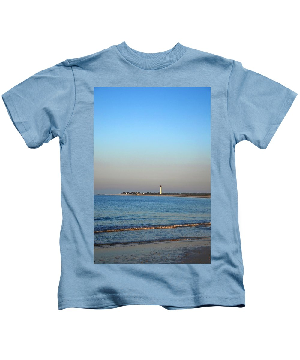 Cape May Kids T-Shirt featuring the photograph Beautiful Day In Cape May by Bill Cannon