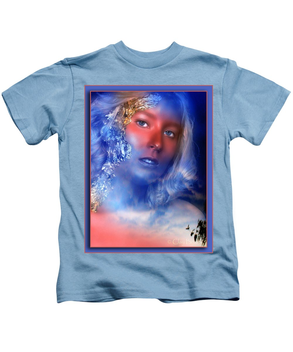 Clay Kids T-Shirt featuring the photograph Beauty In The Clouds by Clayton Bruster
