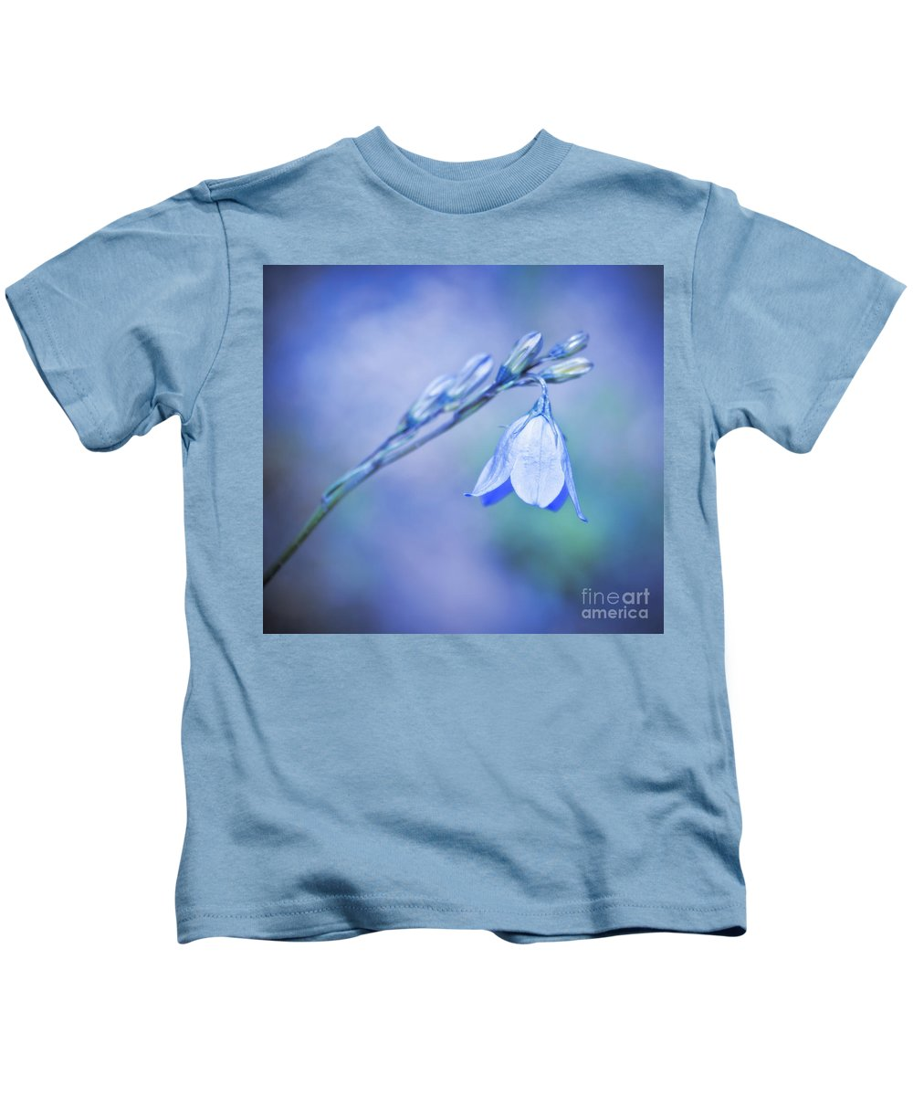 2011 Kids T-Shirt featuring the photograph Bell Flower by Beth Riser