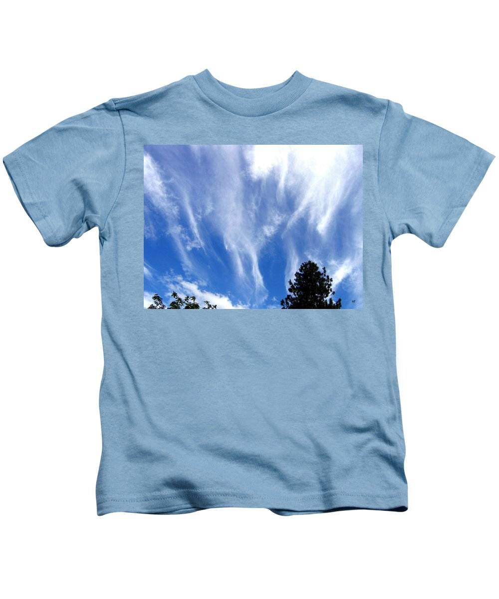Sky Kids T-Shirt featuring the photograph Blustery Sky by Will Borden