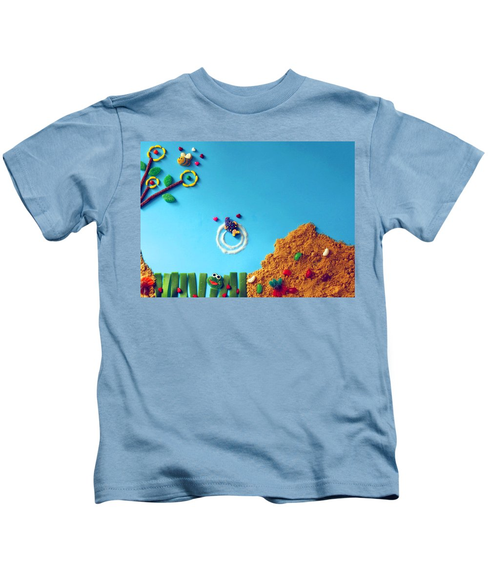 Candy Kids T-Shirt featuring the photograph Candy by Michel Poulin