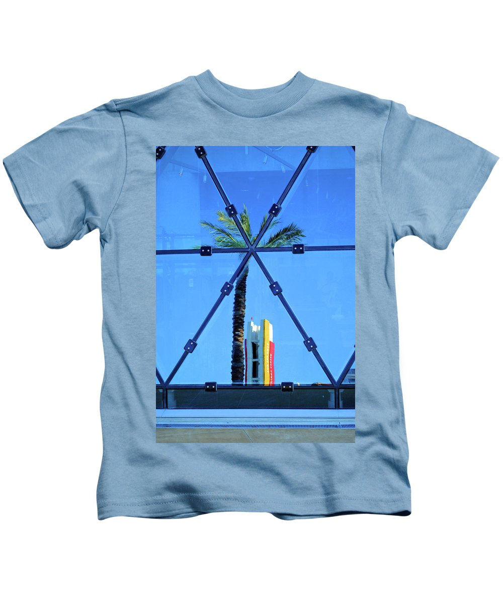 Palm Kids T-Shirt featuring the photograph Center Of The Palm by Jost Houk