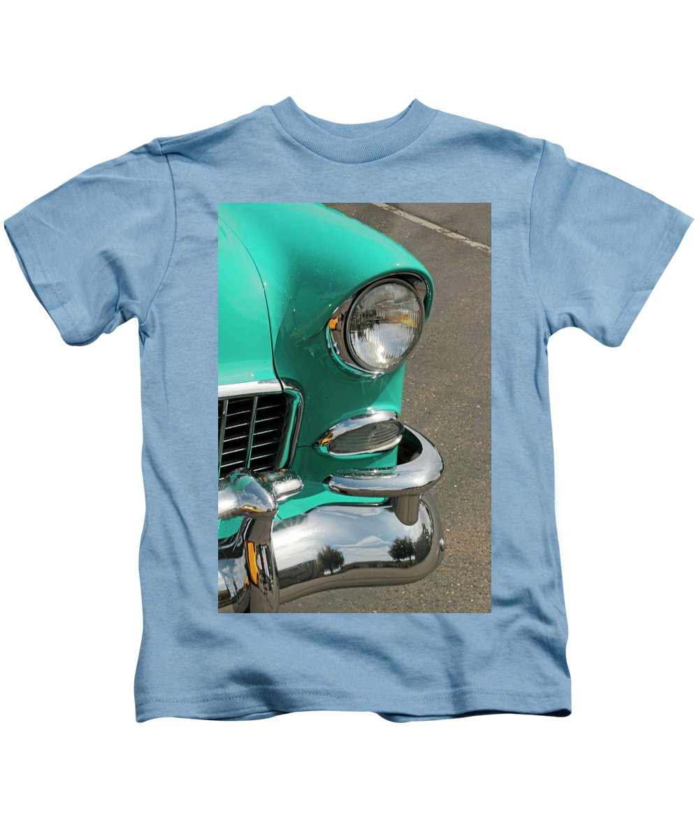 Antique Kids T-Shirt featuring the photograph Chrome by Pauline Darrow
