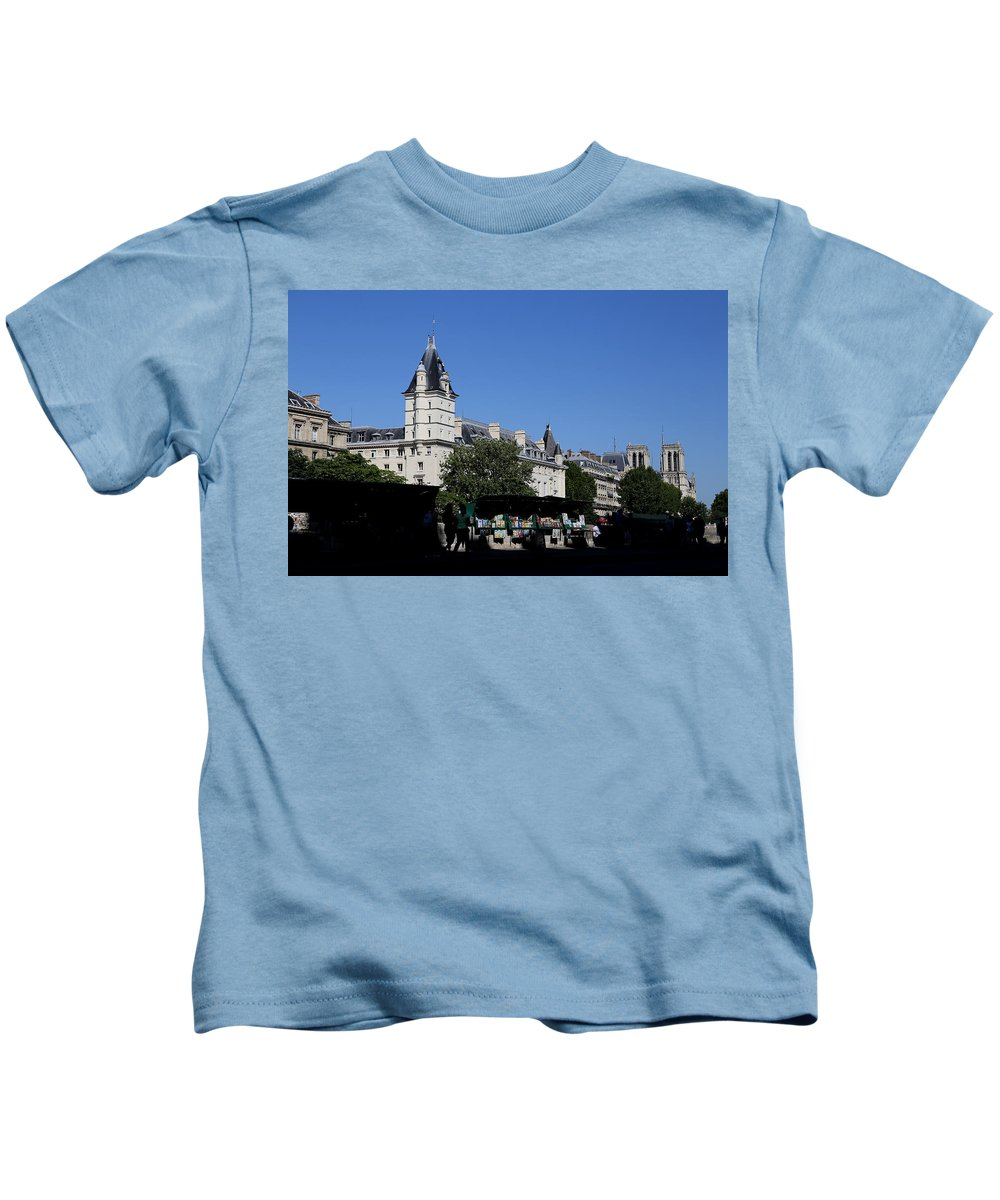 Paris Kids T-Shirt featuring the photograph Classic Paris 12 by Andrew Fare