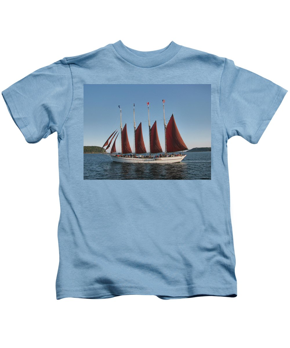 the Margaret Todd Kids T-Shirt featuring the photograph Cruisin by Paul Mangold