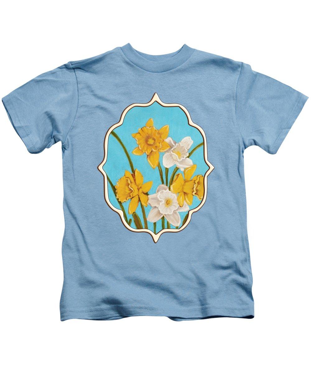 Amaryllis Paintings Kids T-Shirts