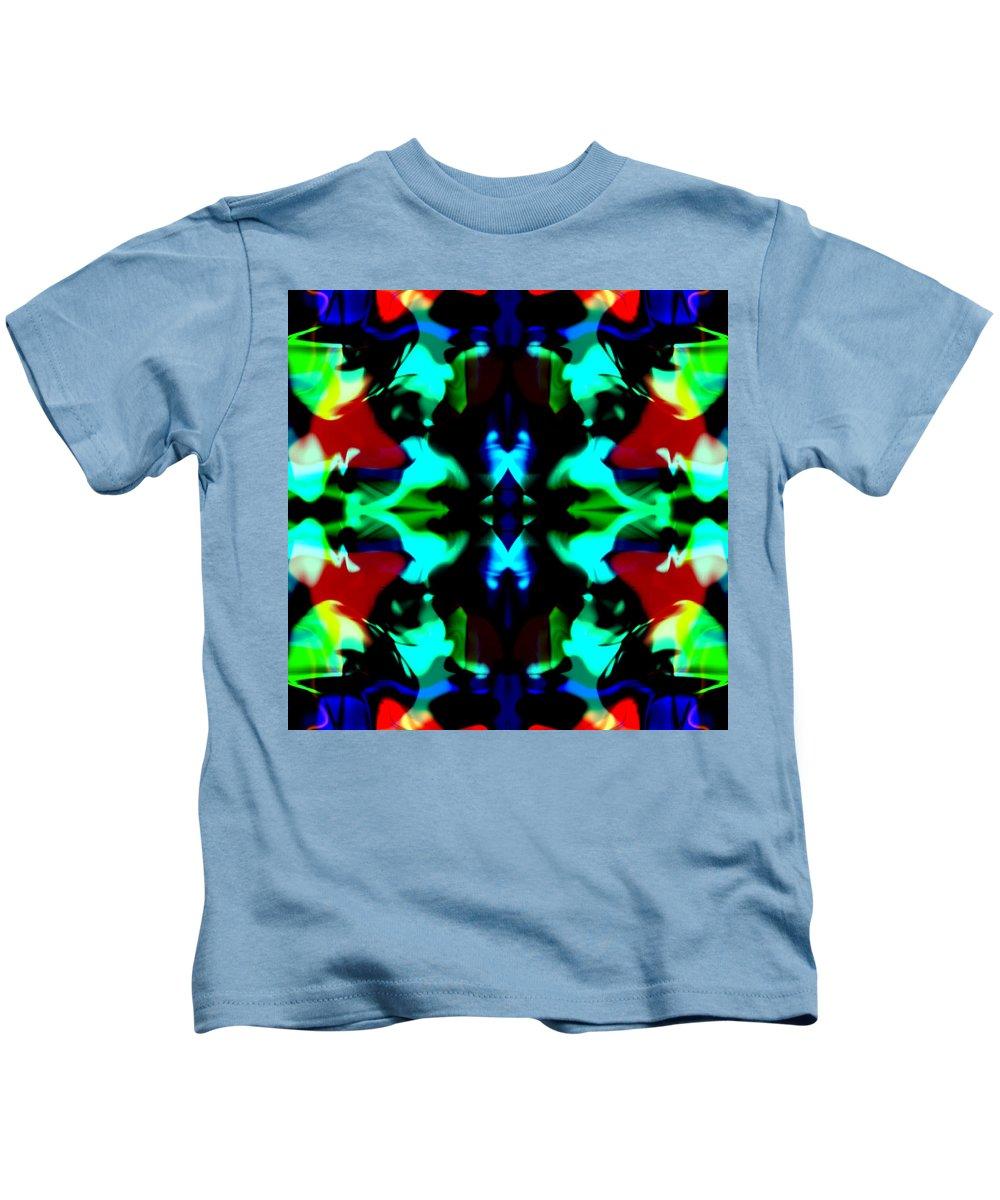 Blotches Kids T-Shirt featuring the digital art Desora by Blind Ape Art