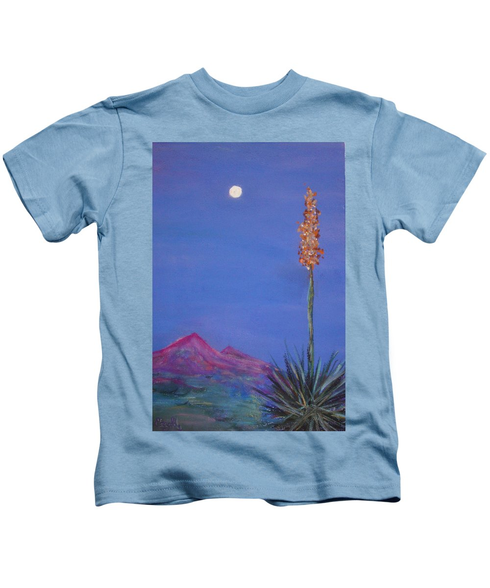 Evening Kids T-Shirt featuring the painting Dusk by Melinda Etzold