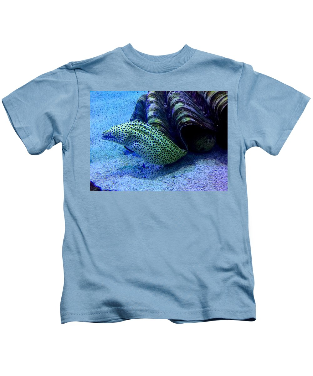 Ocean Kids T-Shirt featuring the photograph Eels by Sarah Houser