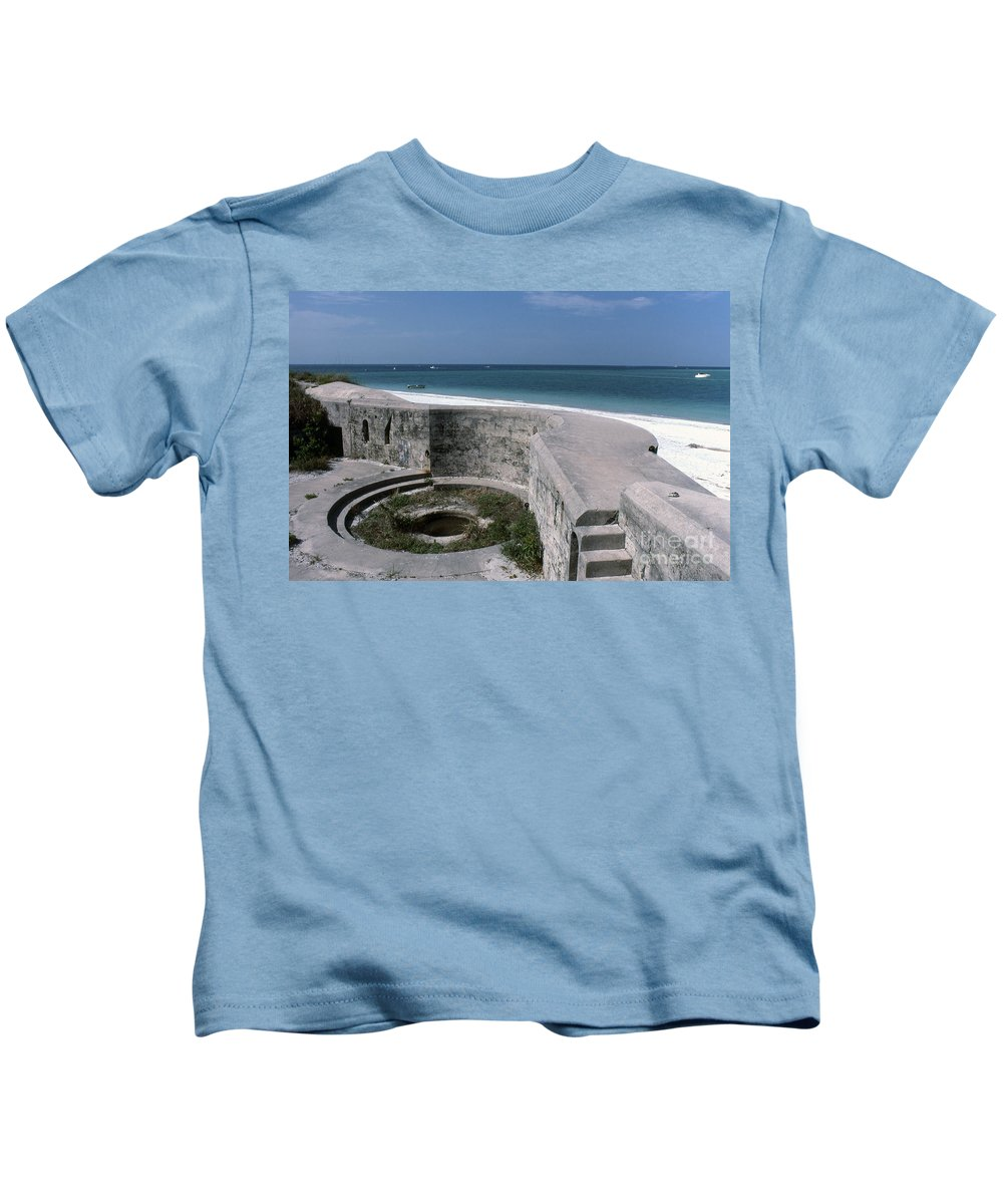 Beaches Kids T-Shirt featuring the photograph Egmont Key by Richard Rizzo