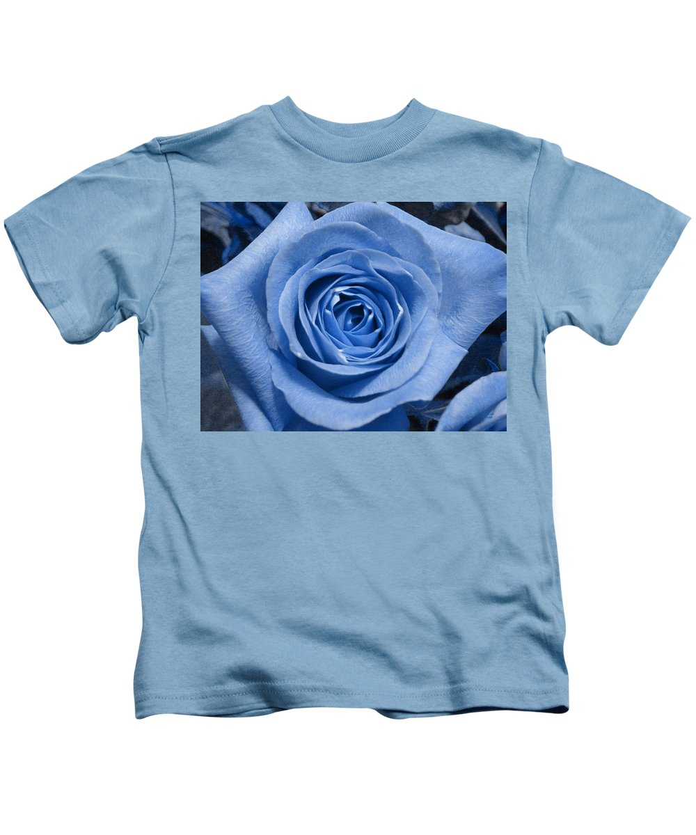 Rose Kids T-Shirt featuring the photograph Eye Wide Open by Shelley Jones