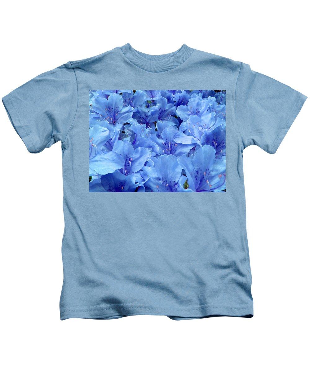 Azalea Kids T-Shirt featuring the photograph Fantasia Azalea by Daniel Csoka