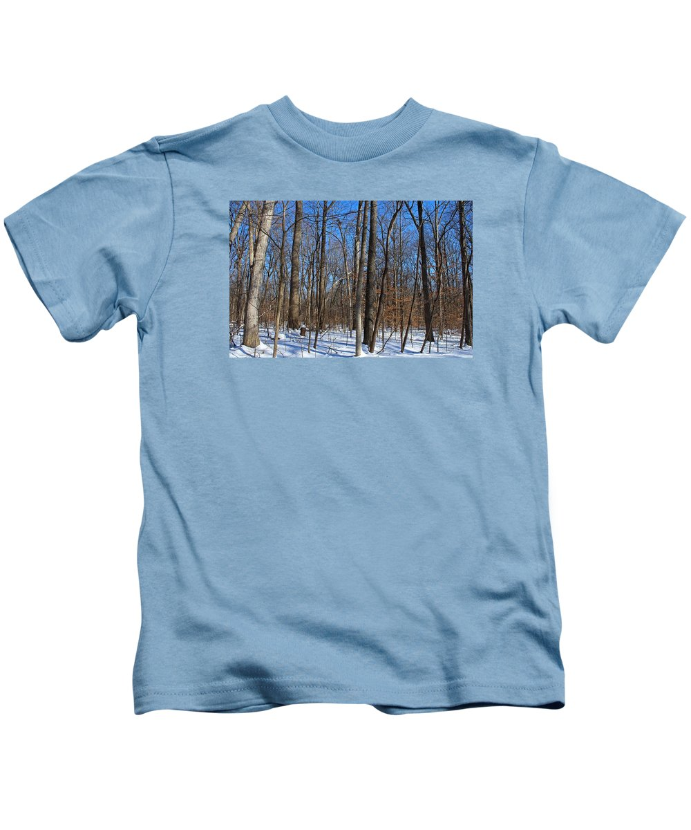 Tree Kids T-Shirt featuring the photograph Final Turn by Michiale Schneider