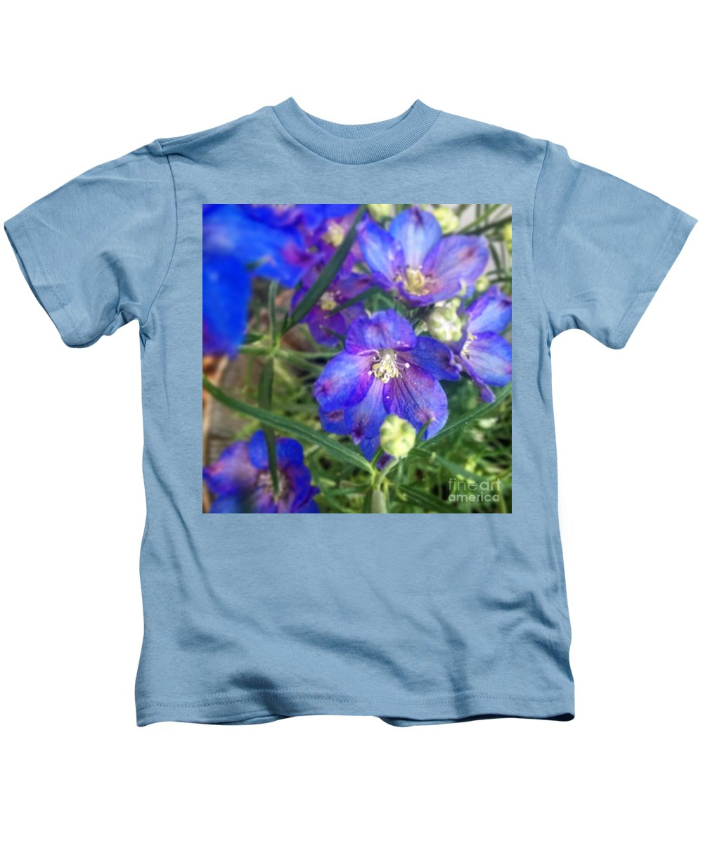 Flower Kids T-Shirt featuring the photograph Flowers Blooming by Laura Albright