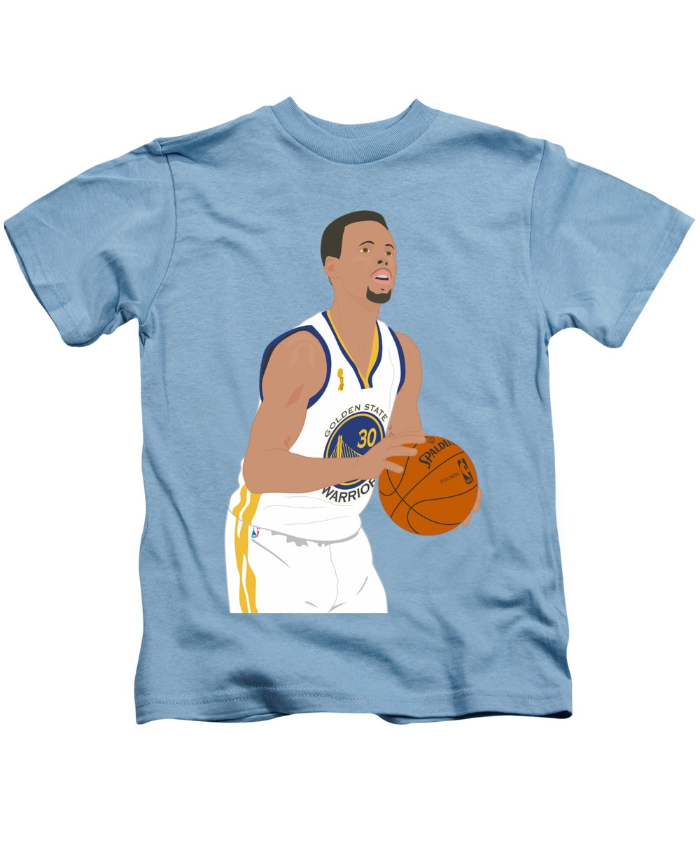 wholesale dealer 41f8e 35c6c Golden State Warriors - Stephen Curry - 2015 Kids T-Shirt