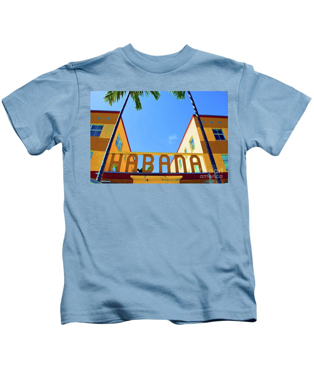 Habana Kids T-Shirt featuring the photograph Habana Condos by Jost Houk