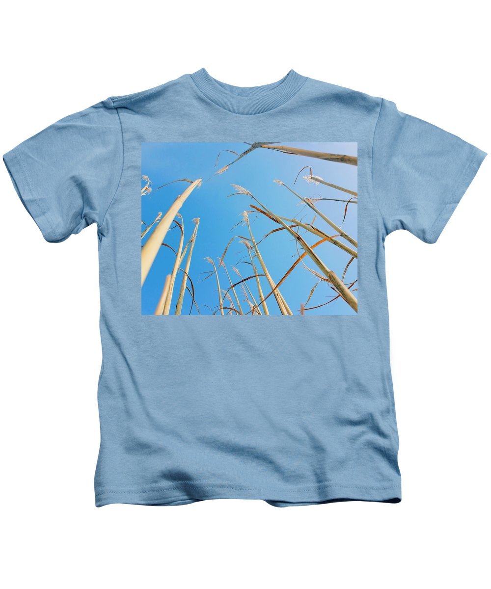 Nature Kids T-Shirt featuring the photograph High In The Sky by Olivia Collins