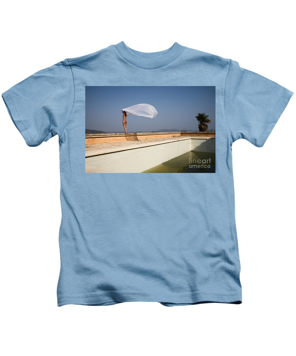 Sensual Kids T-Shirt featuring the photograph I Will Fly To You by Olivier De Rycke