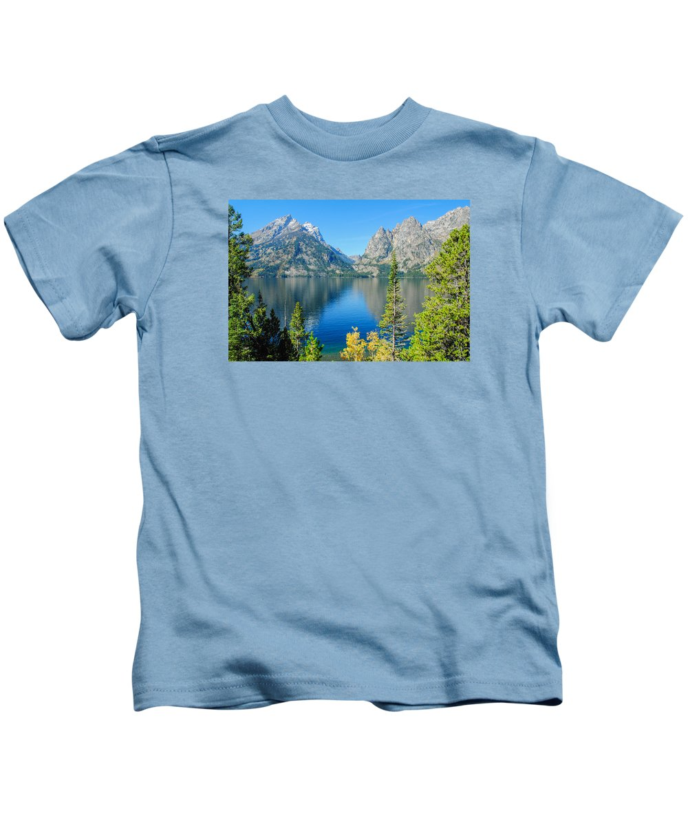 Mountains Kids T-Shirt featuring the photograph Jenny Jenny by Megan Martens