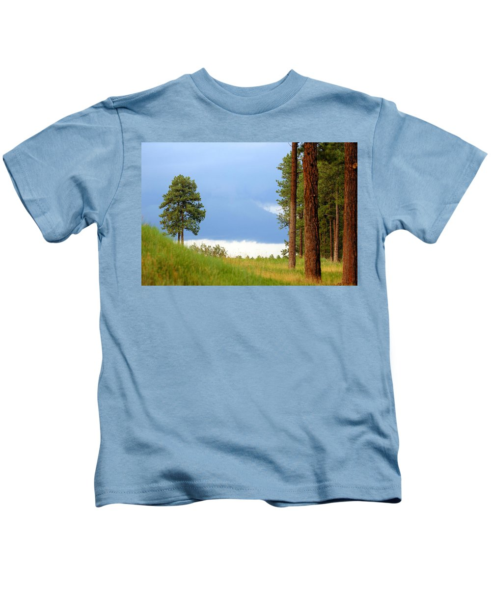Forest Kids T-Shirt featuring the photograph Lone Pine by Jill Reger