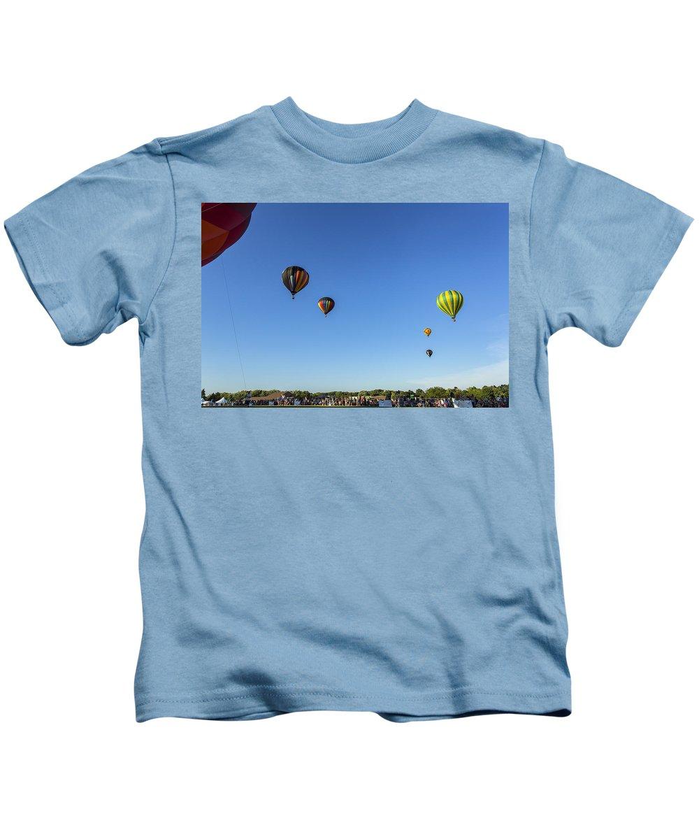 Www.cjschmit.com Kids T-Shirt featuring the photograph Luft by CJ Schmit