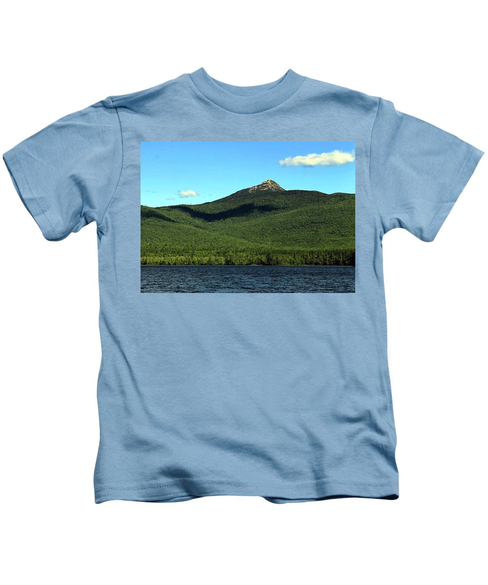 Mount Chocorua Kids T-Shirt featuring the photograph Mount Chocorua by Jeff Heimlich