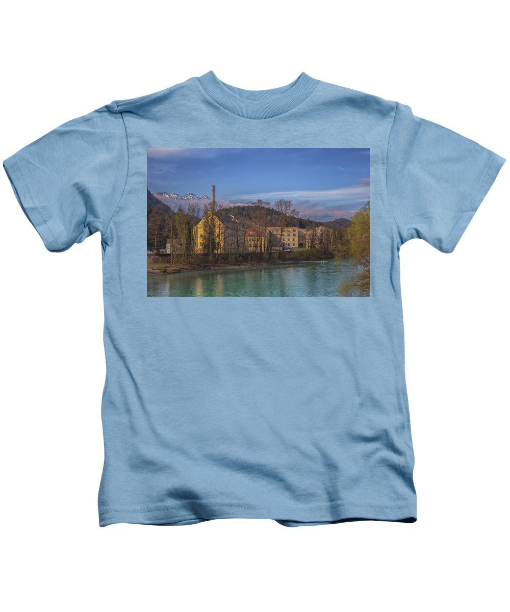 6x4 Kids T-Shirt featuring the photograph Mountain Industry by Chris Fletcher