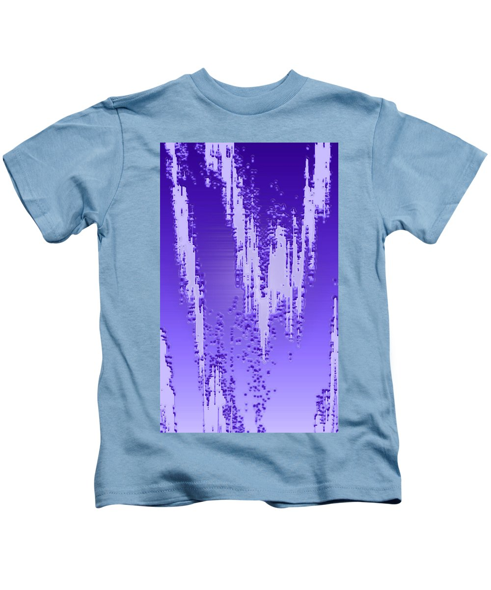 Moveonart! Digital Gallery Kids T-Shirt featuring the digital art Moveonart Dream Research One by Jacob Kanduch